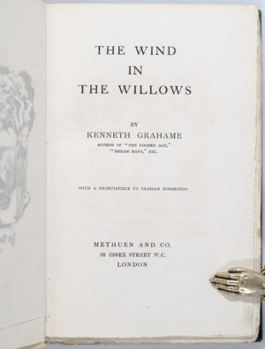 The Wind in the Willows.