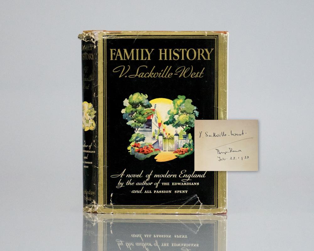 Family History: A Novel of Modern England.
