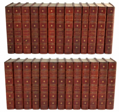 Biographical Edition Works of Robert Louis Stevenson