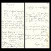 George Seferis Signed Poem.