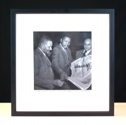 Nelson Mandela Silver Gelatin Print