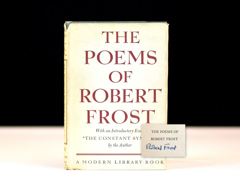 robert frost poems Poet robert frost was born in san francisco, but his family moved to lawrence, massachusetts, in to celebrate his first publication, frost had a book of six poems privately printed two copies of.
