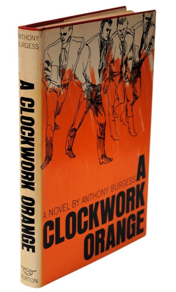 """a comparison of the new american edition and original american edition of a clockwork orange Que el trabajo remitido es un documento original y no ha sido publicado con   the aim of the final project is to develop a cross-disciplinary comparison between   american edition of the novel, he stated: """"[a clockwork orange] seems likely to   burgess' fiction, it is indispensable to pay attention to new attitudes and."""