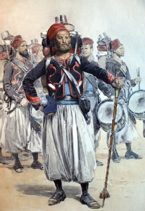 L'Armee Francaise. Types et Uniformes.