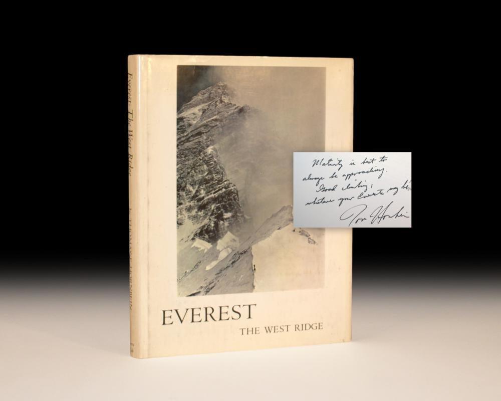 Everest: The West Ridge.