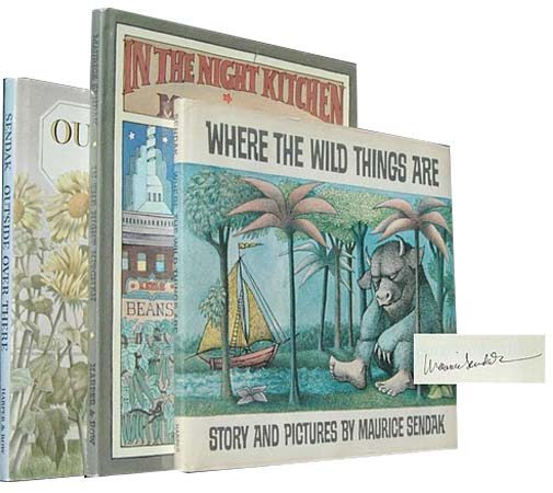 Where the Wild Things Are, In the Night Kitchen, Outside Over There