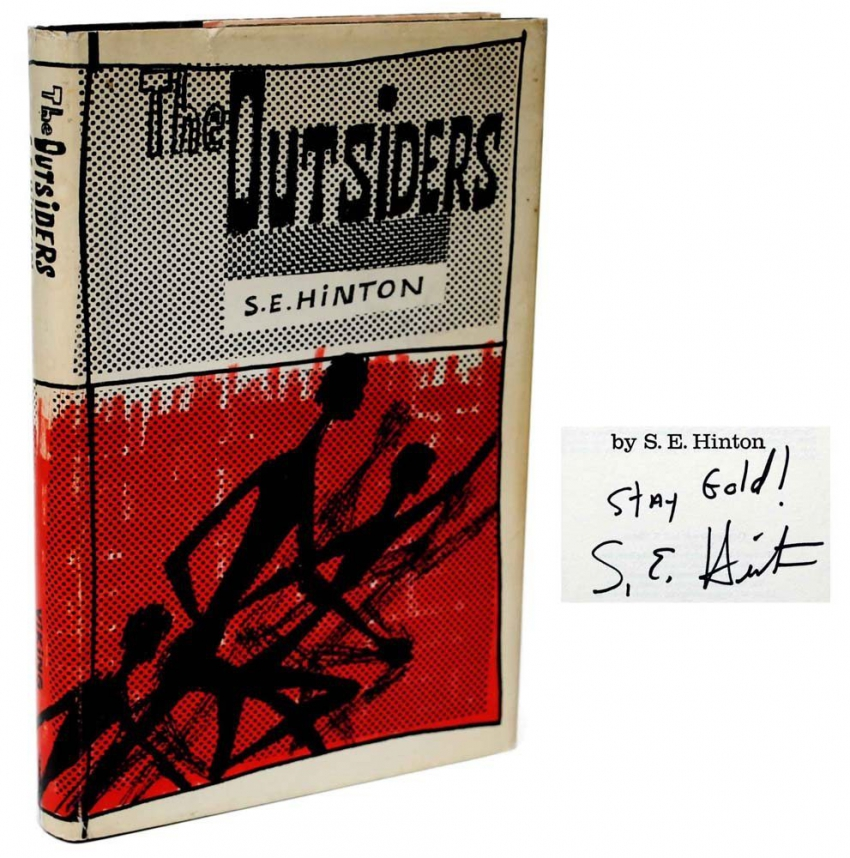 title the outsiders by se hinton The outsiders by se hinton conflict analysis by jordan wint no description by jordan winters on 16 december 2014 tweet comments  the outsiders by se hinton.