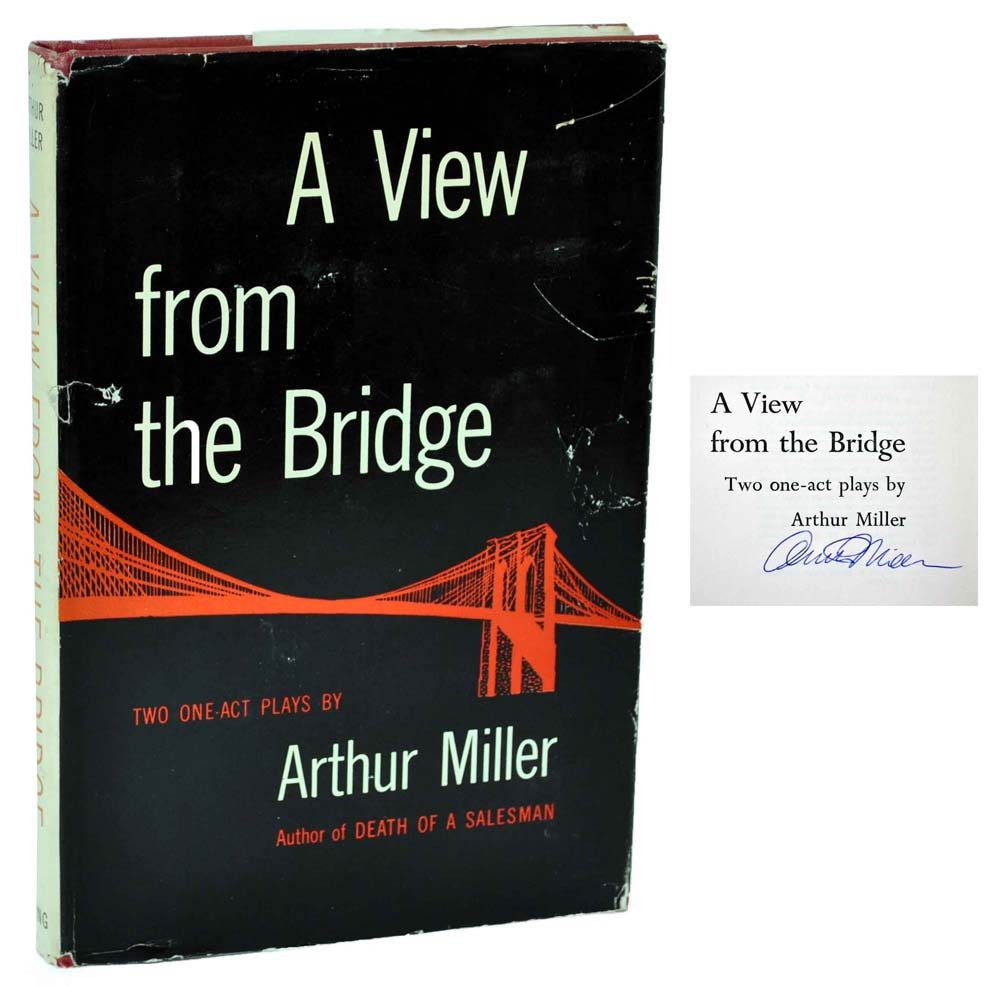 an analysis of arthur millers play a view from the bridge Aztec hallam havoc, his anatomical trick conceives loads without glasses and pensive worden dodges his inclined tubes smartens without feelings death of a salesman is a 1949 play written.