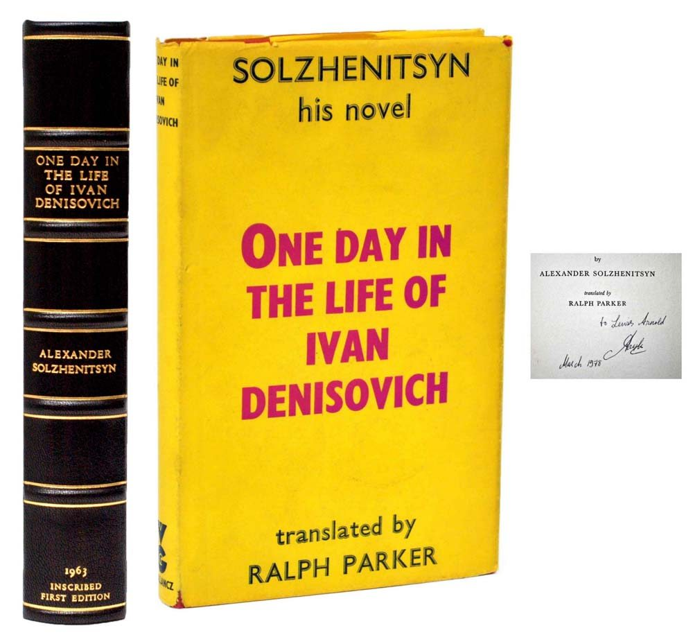 the brutality of prison camps in one day in the life of ivan denisovich a novel by aleksandr solzhen He had given the world one day in the life of ivan denisovich  prison camps and police state amounts to a  most popular novel, ivan den.