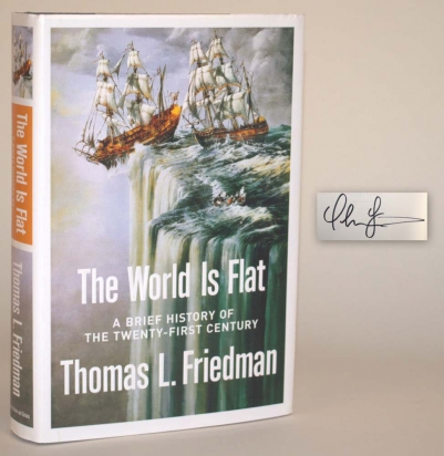 The World is Flat: A Brief History of the Twenty-First Century.
