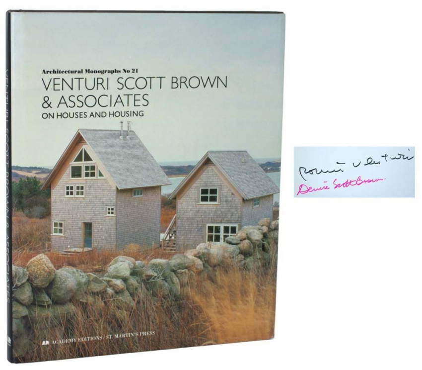 Venturi Scott Brown & Associates: On Houses and Housing