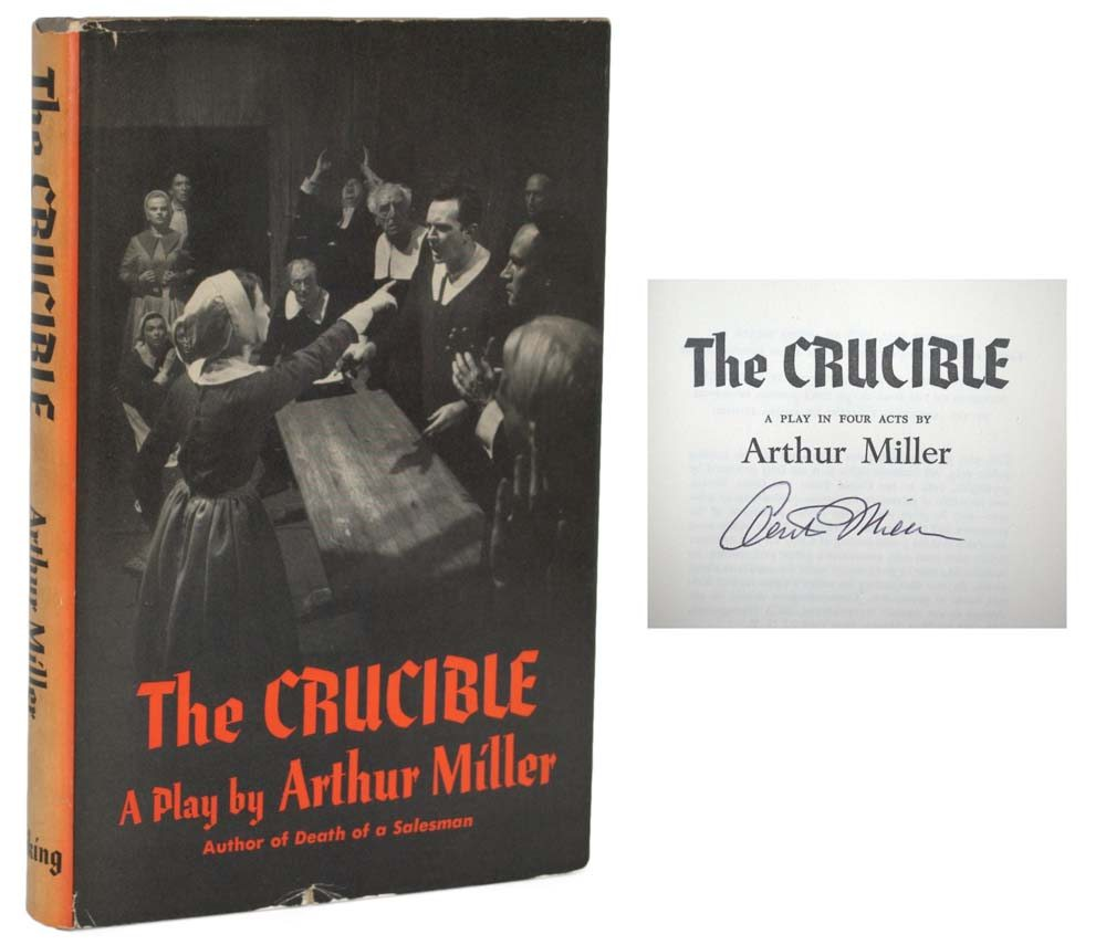 "the powerless victim of society in the crucible a play by arthur miller The crucible tweet ""we are only interval use arthur miller's text to explore themes of persecution, hysteria and fear all too relevant to today's society."