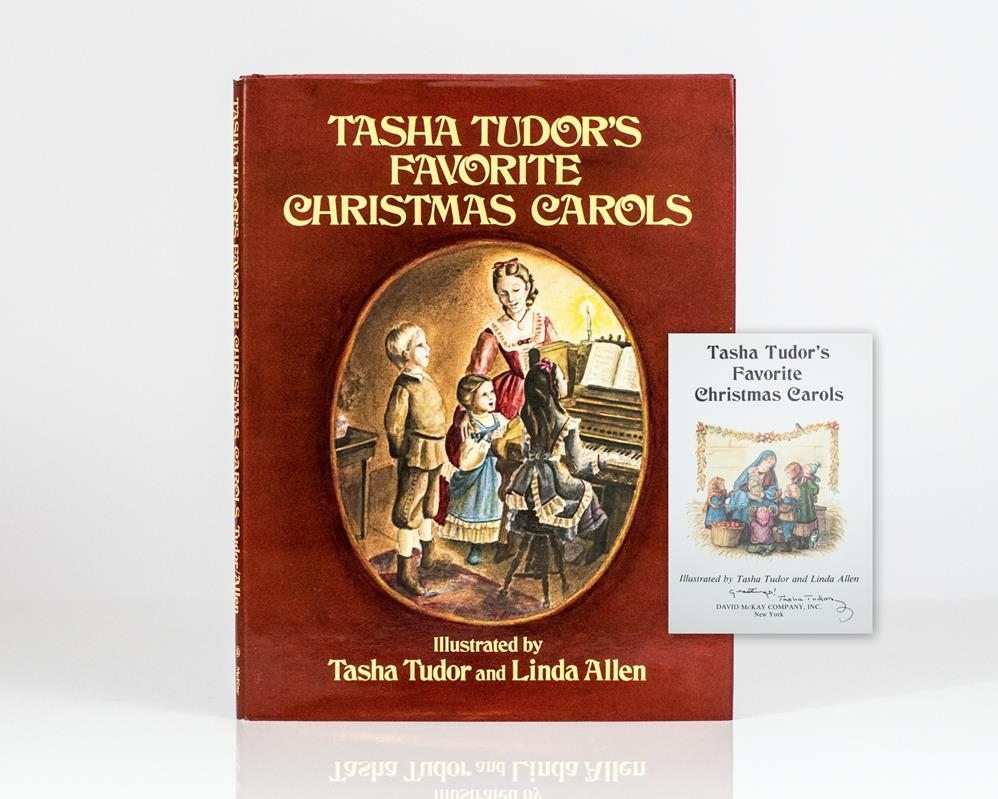 Tasha tudor s favorite christmas carols for Tudor signatures