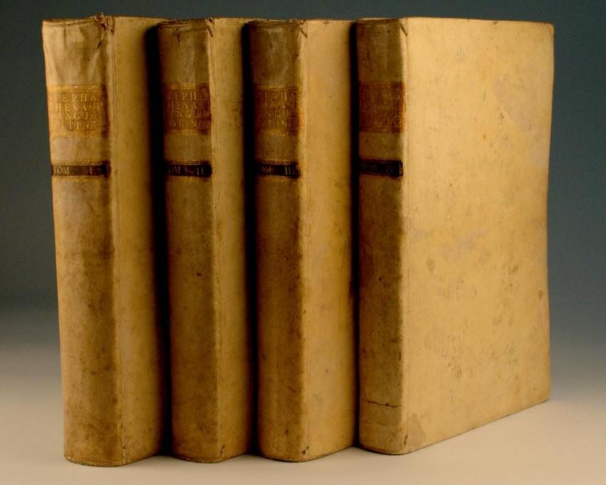 Thesaurus Linguae Latinae.