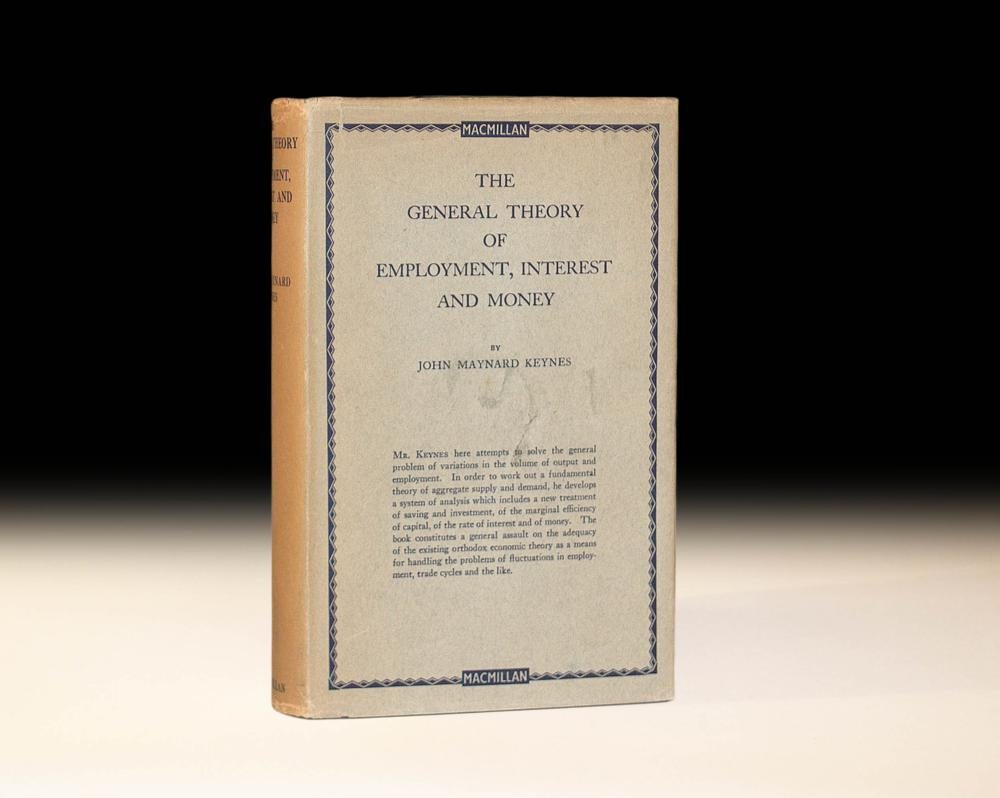 """the general theory of employment essay But not always: john maynard keynes: essays in biography: """"if only  john  maynard keynes: the general theory of employment, interest and."""
