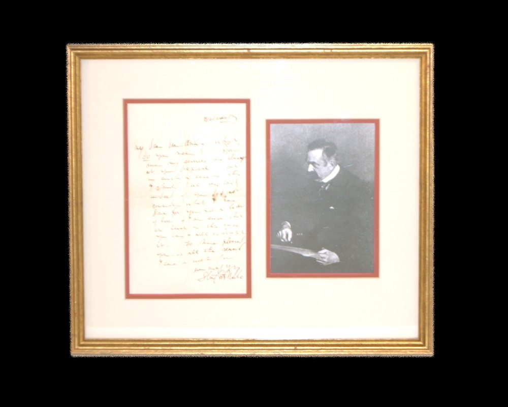 Stanford White Autograph Letter Signed.