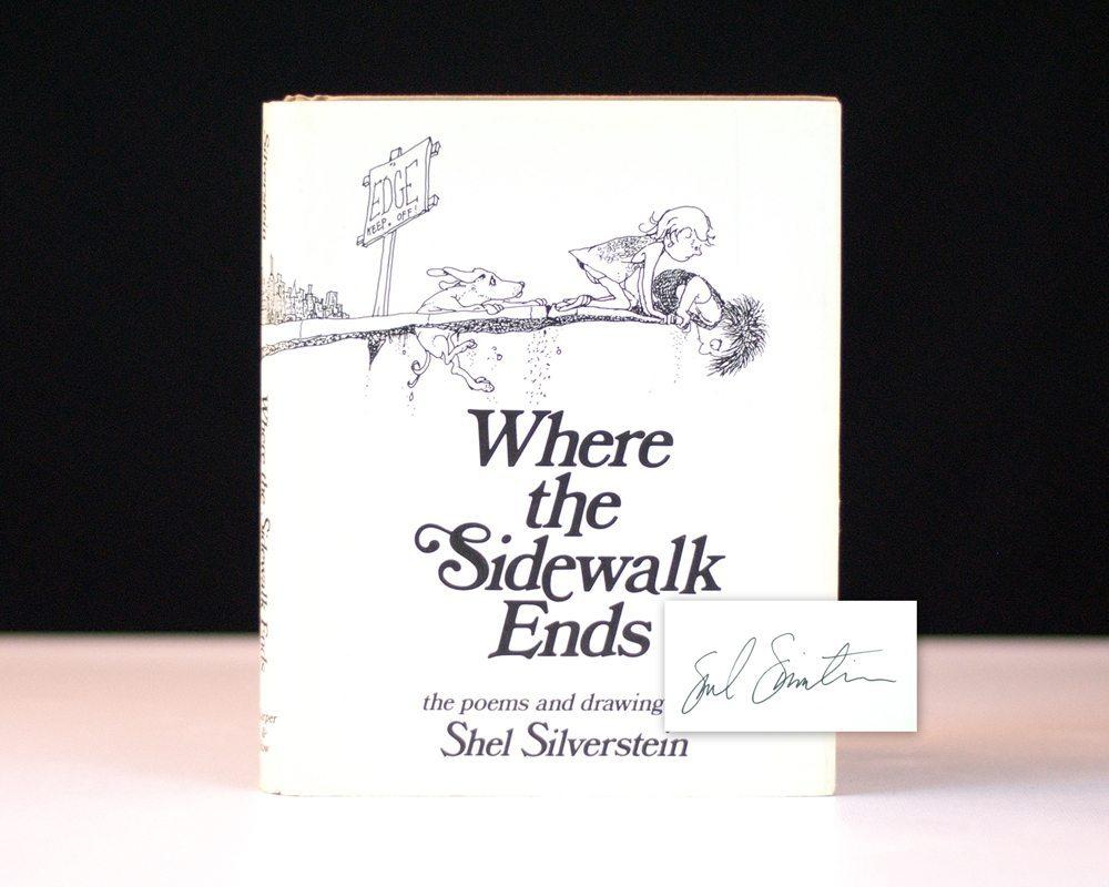 shel silverstein where the sidewalk ends - 1000×800