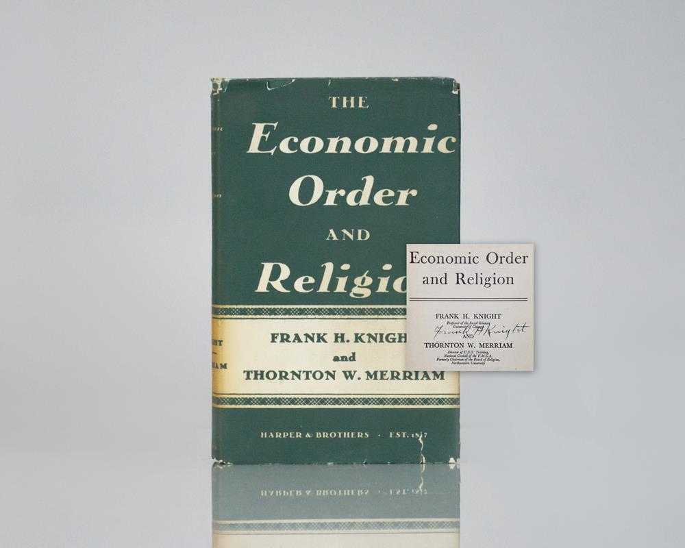 The Economic Order and Religion.