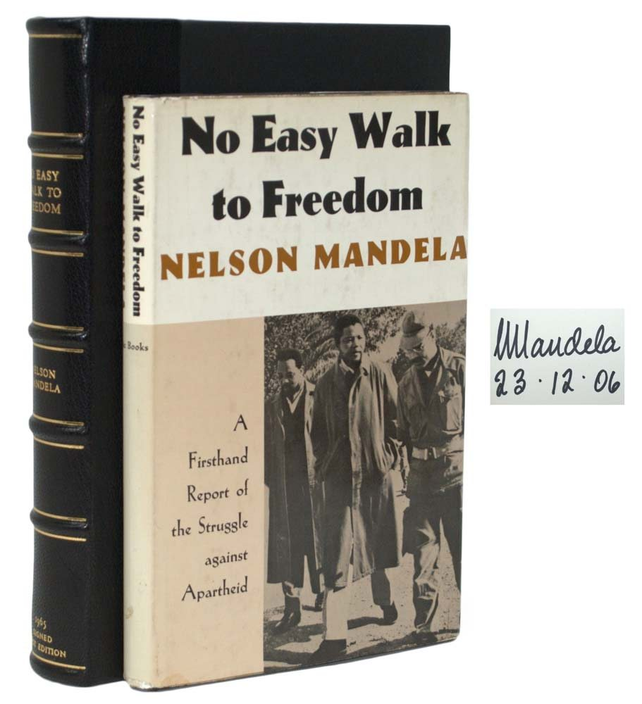 No Easy Walk To Freedom: A Firsthand Report of the Struggle of Apartheid.