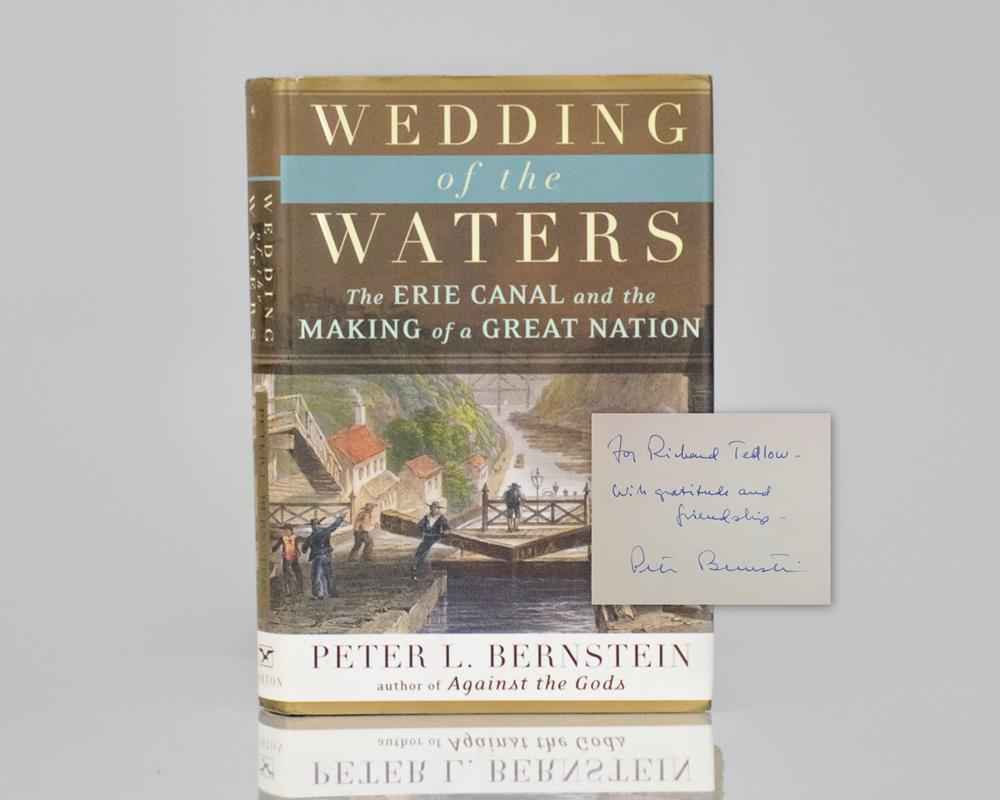 Wedding of the Waters: The Erie Canal and the Making of a Great Nation.