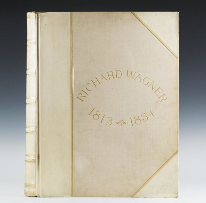Richard Wagner: His Life and Works from 1813-1834.
