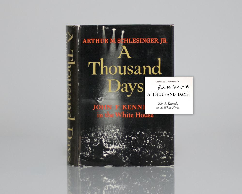 A Thousand Days: John F. Kennedy In the White House.