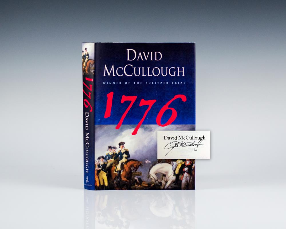 1776 by david mccullough a book 1776 by david mccullough is a book about a pivotal year in the american revolution in which the continental congress met in philadelphia and made the momentous decision that the colonies should.