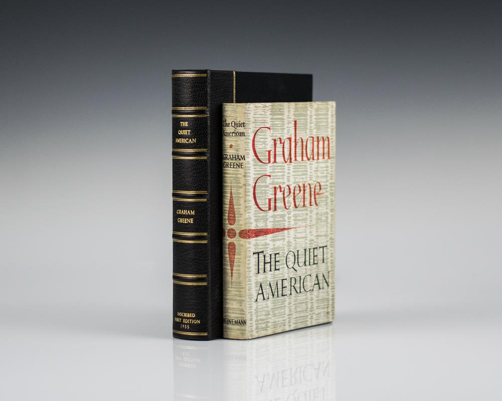 quiet american graham greene fowler and pyle comparative s There was something bizarre, indeed something almost surreal, about george w bush's recent reference to graham greene's novel the quiet american in his speech to the national convention of.