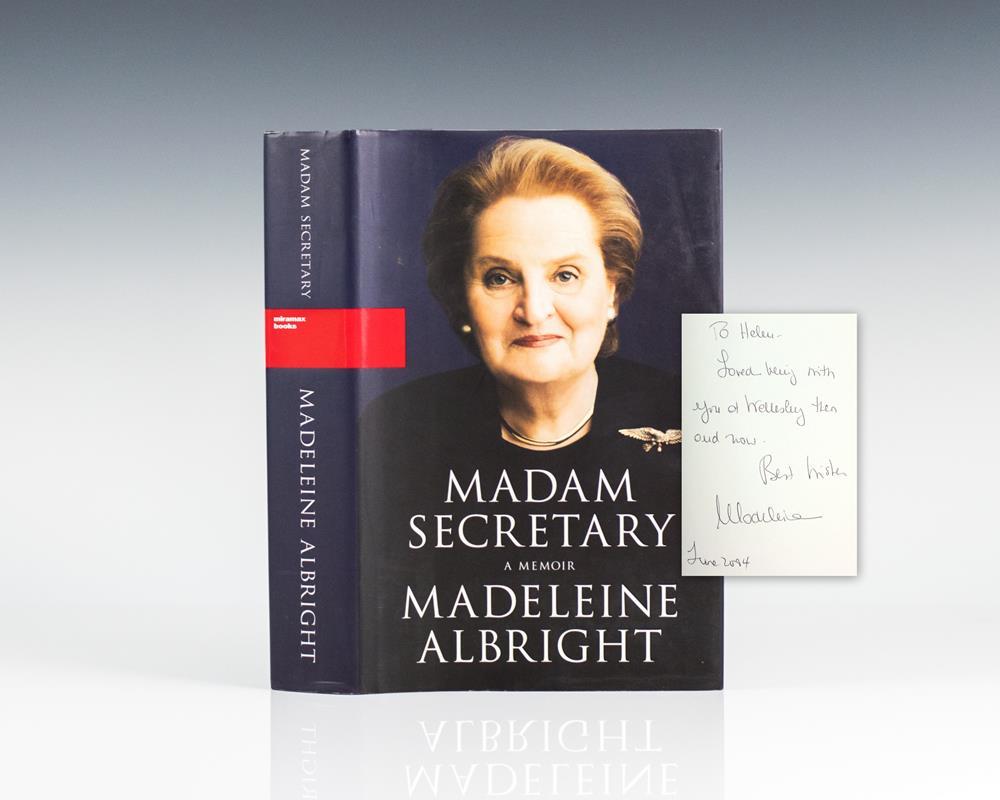 Madam Secretary: A Memoir.