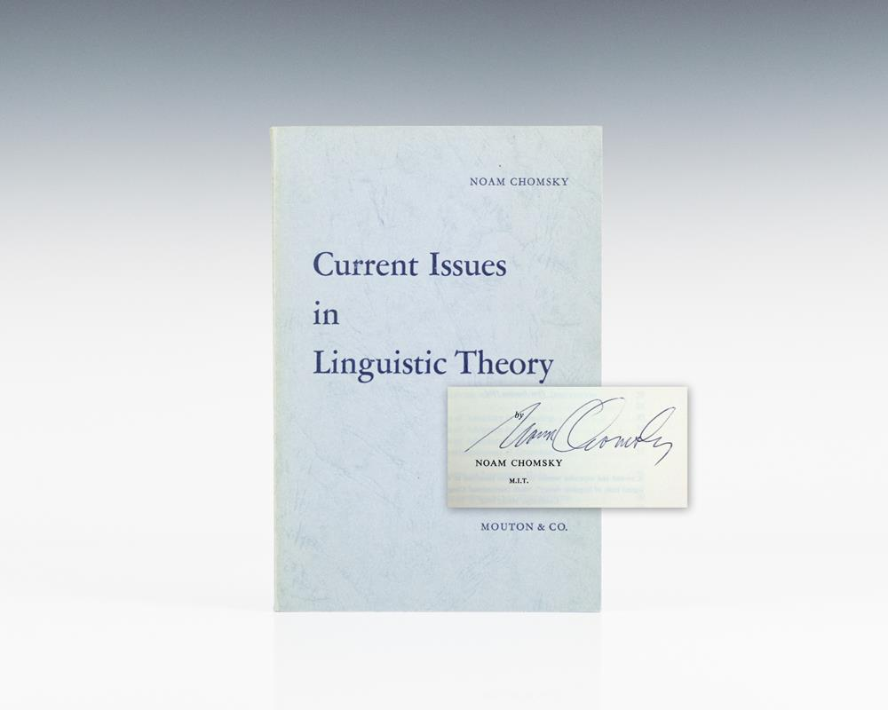 Current Issues in Linguistic Theory.