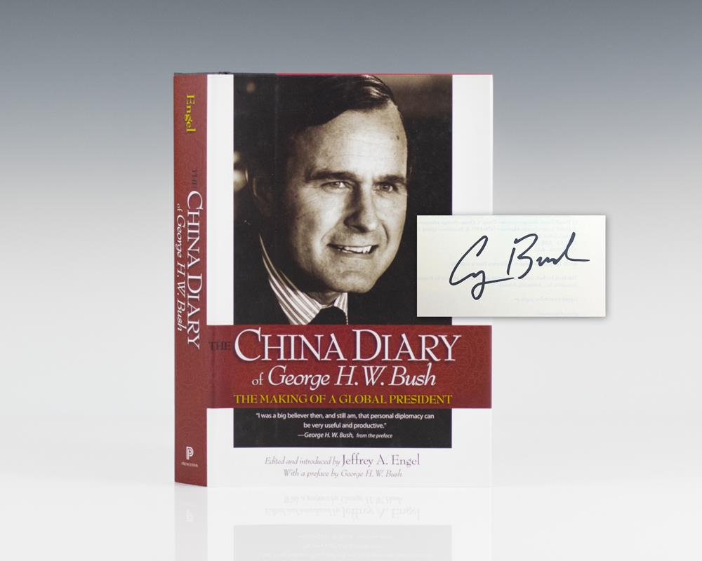 The China Diary of George H. W. Bush: The Making of a Global President.