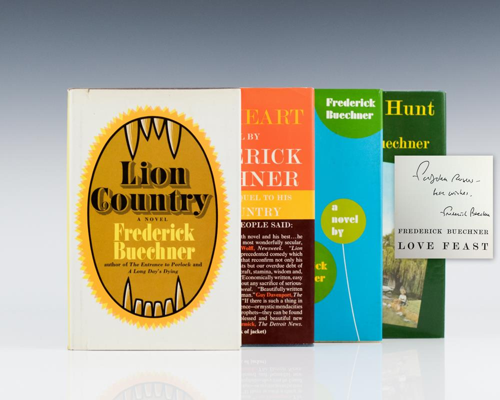 Book of Bebb Quartet: Lion Country, Open Heart, Love Feast, Treasure Hunt.