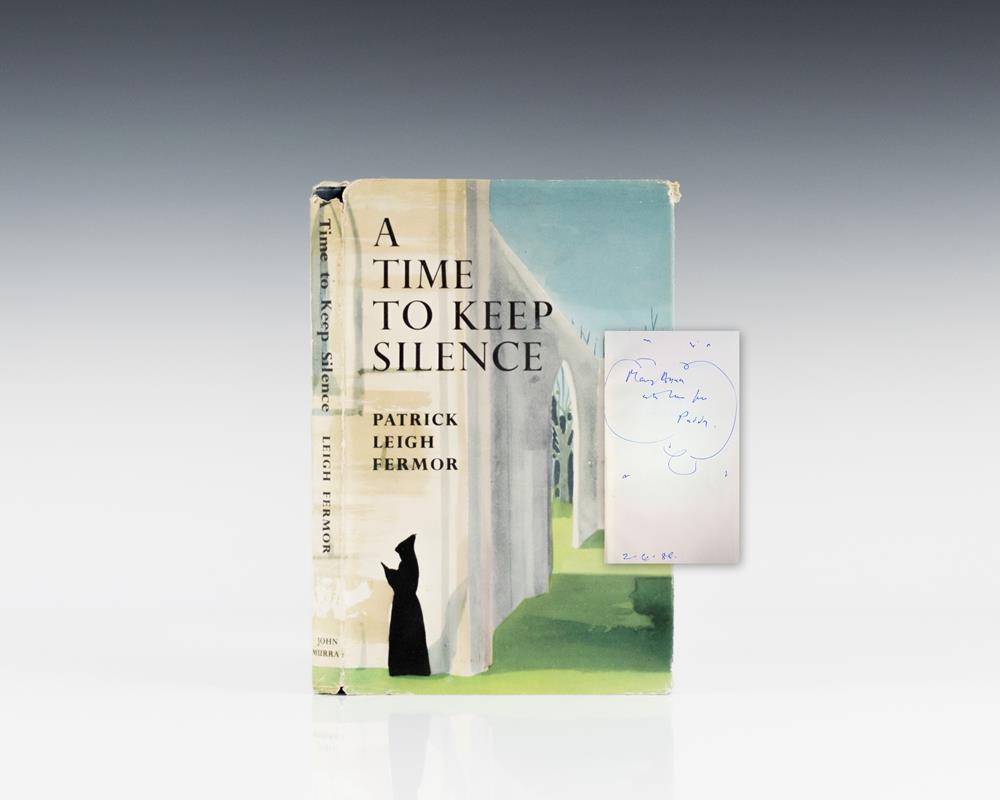 A Time To Keep Silence.