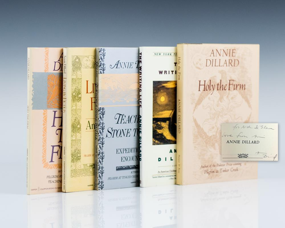 Living By Fiction; Holy The Firm; The Writing Life; Teaching A Stone To Talk; Holy The Firm (Five Volumes)