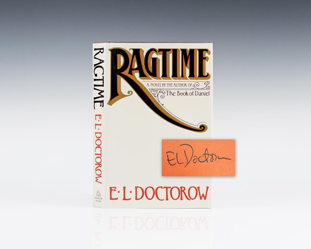 ragtime e l doctorow El doctorow used to tell a story about a journalism class he took as a high school student in the bronx as he told npr back in 2003, he wrote a profile of a doorman at carnegie hall who was .