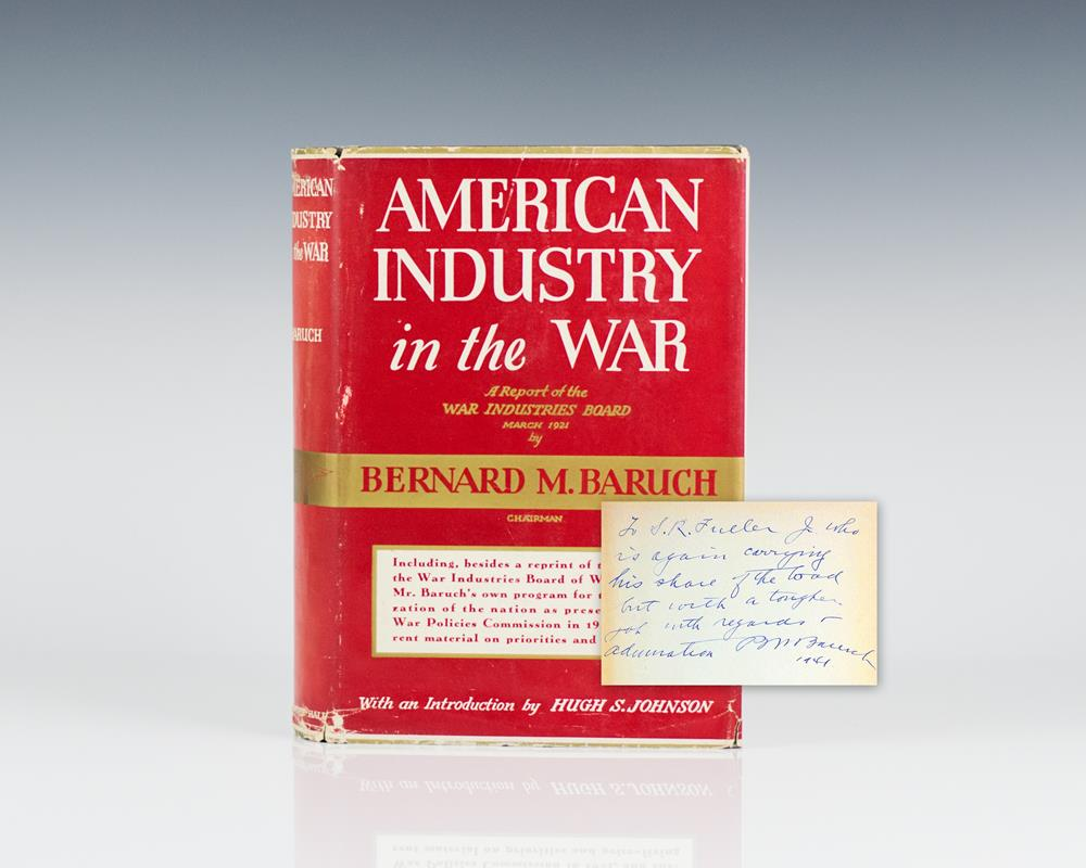 American Industry In The War.