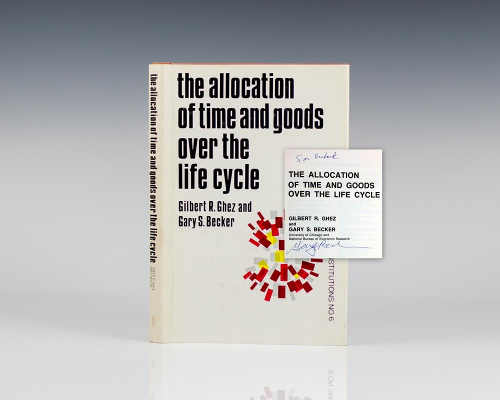 The Allocation of Time and Goods Over the Life Cycle.