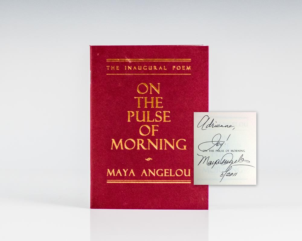 a literary analysis of on the pulse of morning by maya angelou