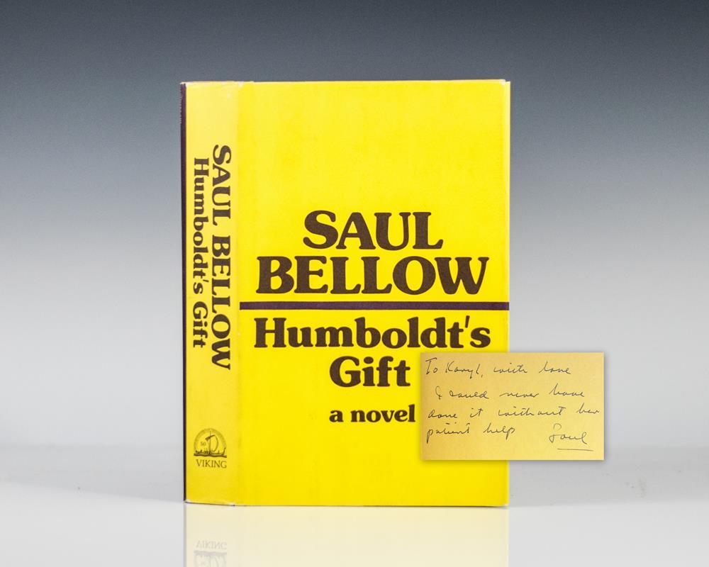 Humboldt's Gift.
