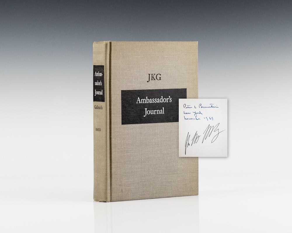 Ambassador's Journal.