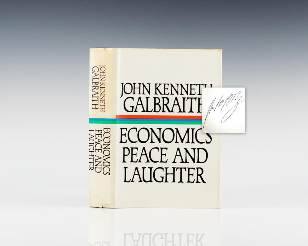 Economics Peace and Laughter.