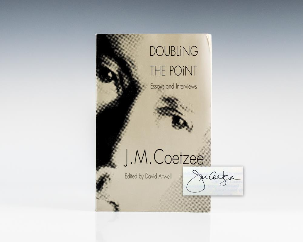 Doubling the Point: Essays and Interviews.
