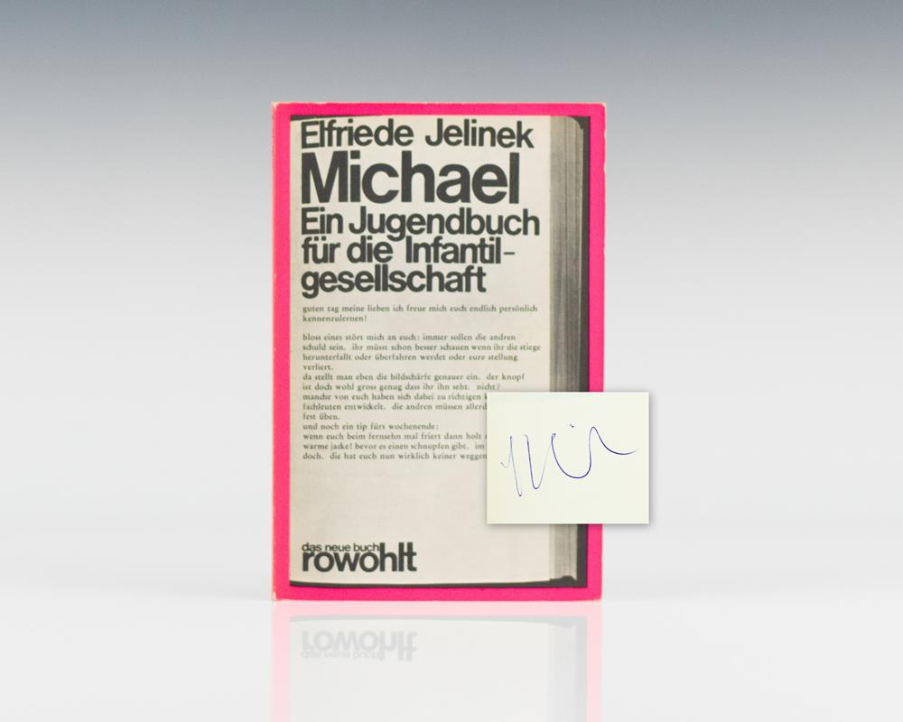 Michael: Ein Jugendbuch fur die Infantilgesellschaft.