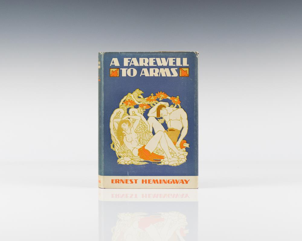 an analysis of ernest hemingways novel a farewell to arms Chapter i introduces the general setting of a farewell to arms: wartime during the early twentieth century (note the references to motor trucks and motor cars), in an agricultural region of an as-yet-unnamed country the narrator, also unidentified so far, tells of fighting in the mountains beyond the plain where the action of the chapter.