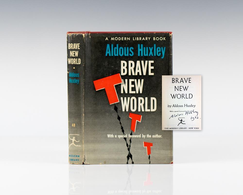 aldous huxleys brave new world: contemporary america to utopia essay Landesabitur englisch inhalt und interpretation von aldous huxleys roman brave new world utopia, abi brave new world, interpretation.