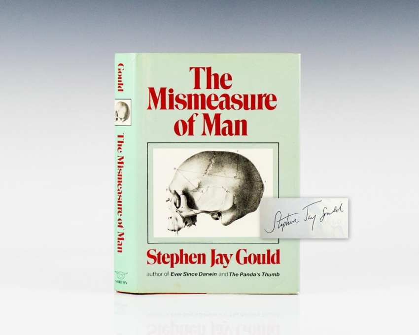 The Mismeasure of Man.