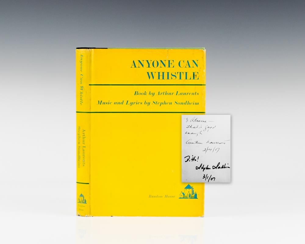 Anyone Can Whistle: A Musical Fable.