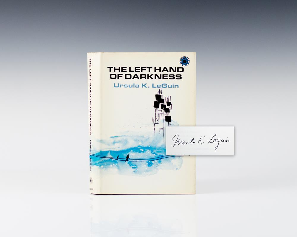 an analysis of the left hand of darkness a novel by ursula leguin One of science fiction's most famous novels, ursula k le guin's the left hand of darkness, is being developed as a limited series, according to variety.