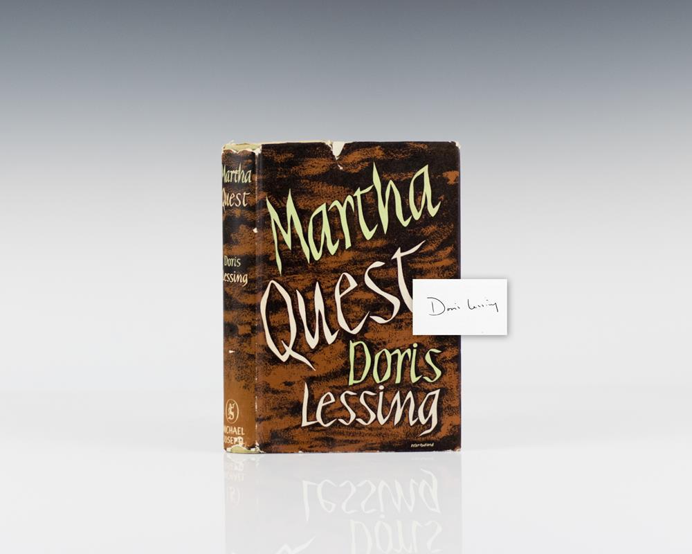 Martha Quest.