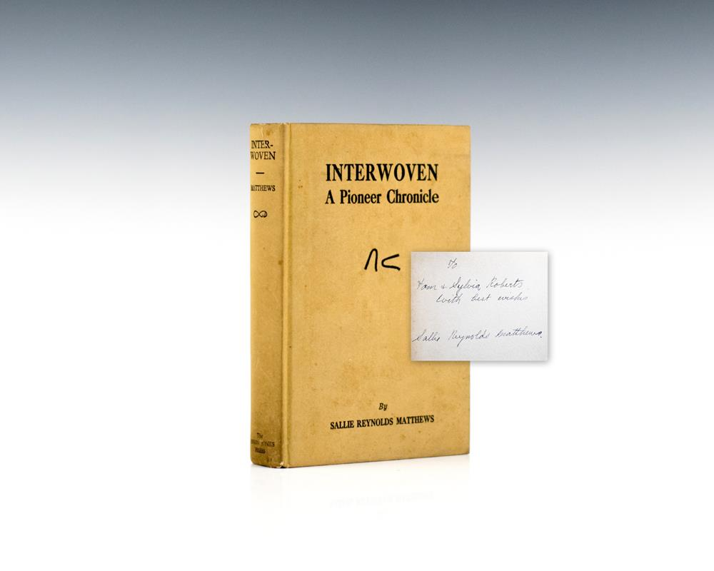Interwoven: A Pioneer Chronicle.